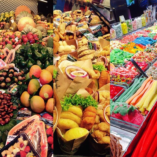 Food from Barcelona