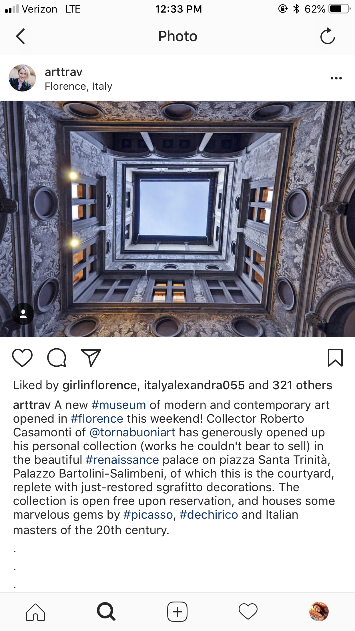 CAPAStudyAbroad_Florence_From Emily Kearns - instagram4