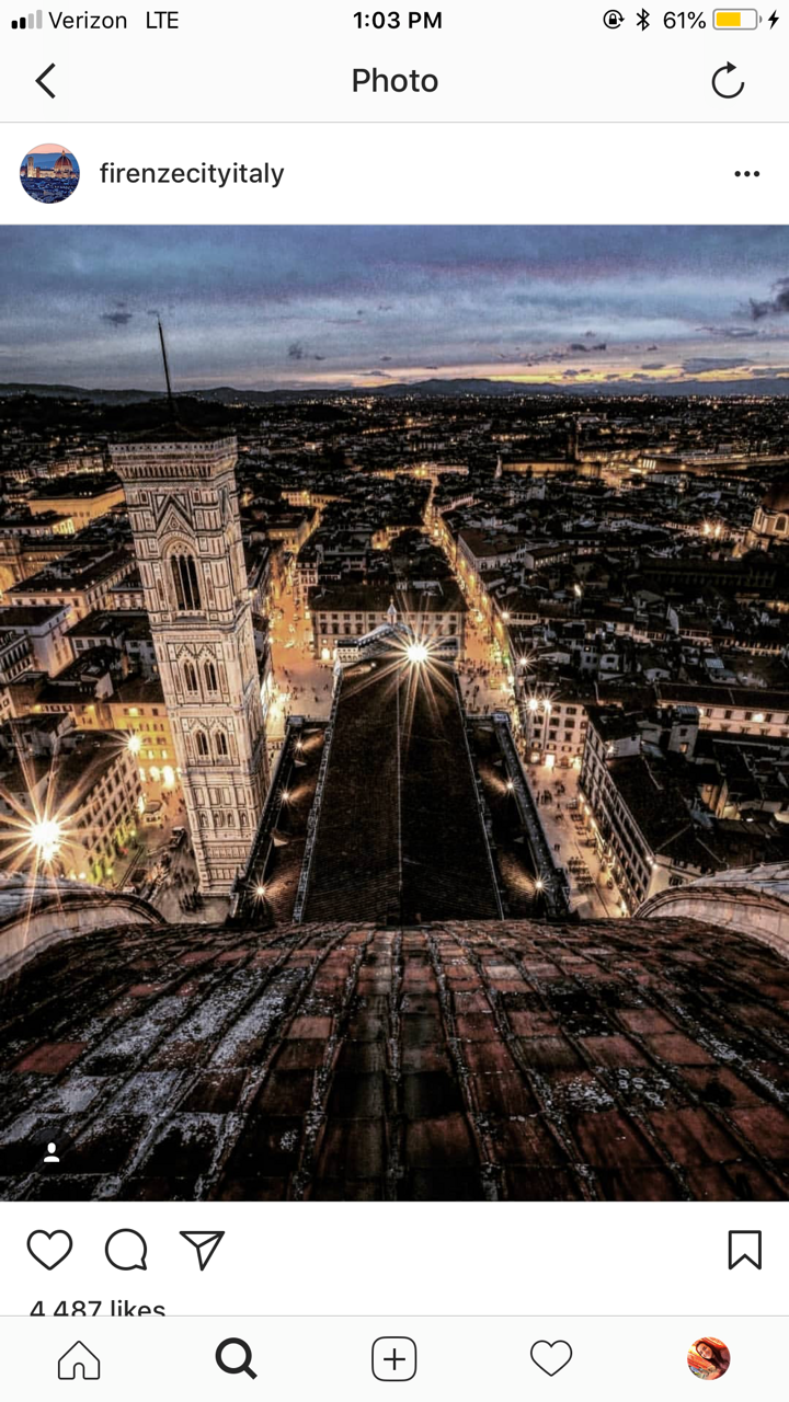 CAPAStudyAbroad_Florence_From Emily Kearns - instagram6