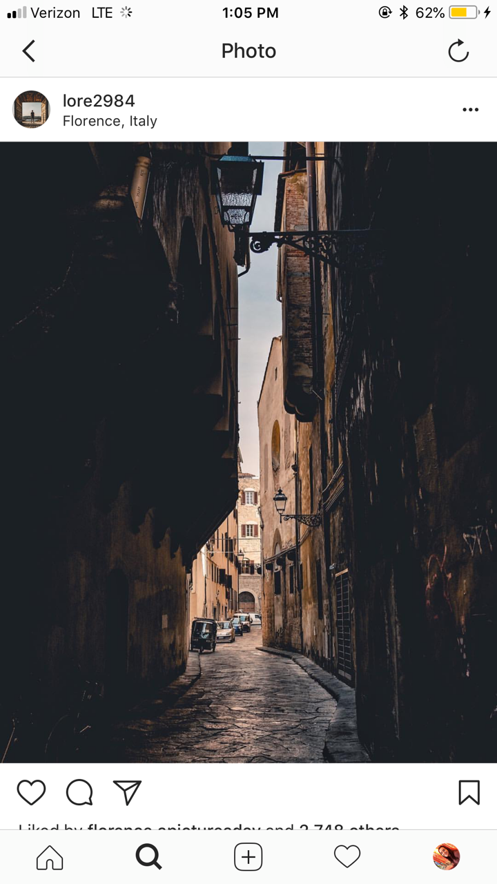 CAPAStudyAbroad_Florence_From Emily Kearns - instagram8