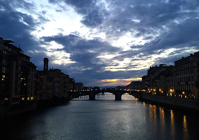 CAPAStudyAbroad_Florence_Spring2015_From_Emily_Kearns_-_night