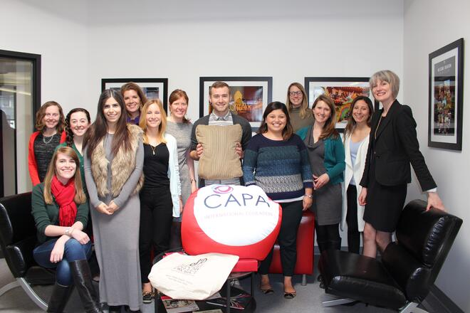 CAPAStudyAbroad_Fritha_Vincent_with_CAPA_Boston_Staff.jpg