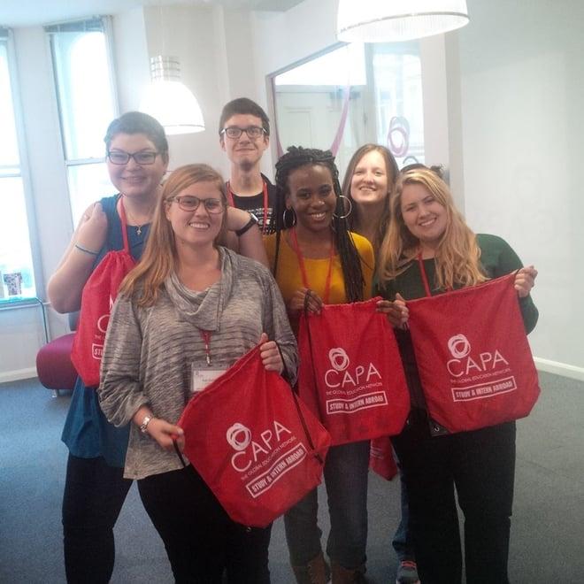 CAPA London Student Council Members