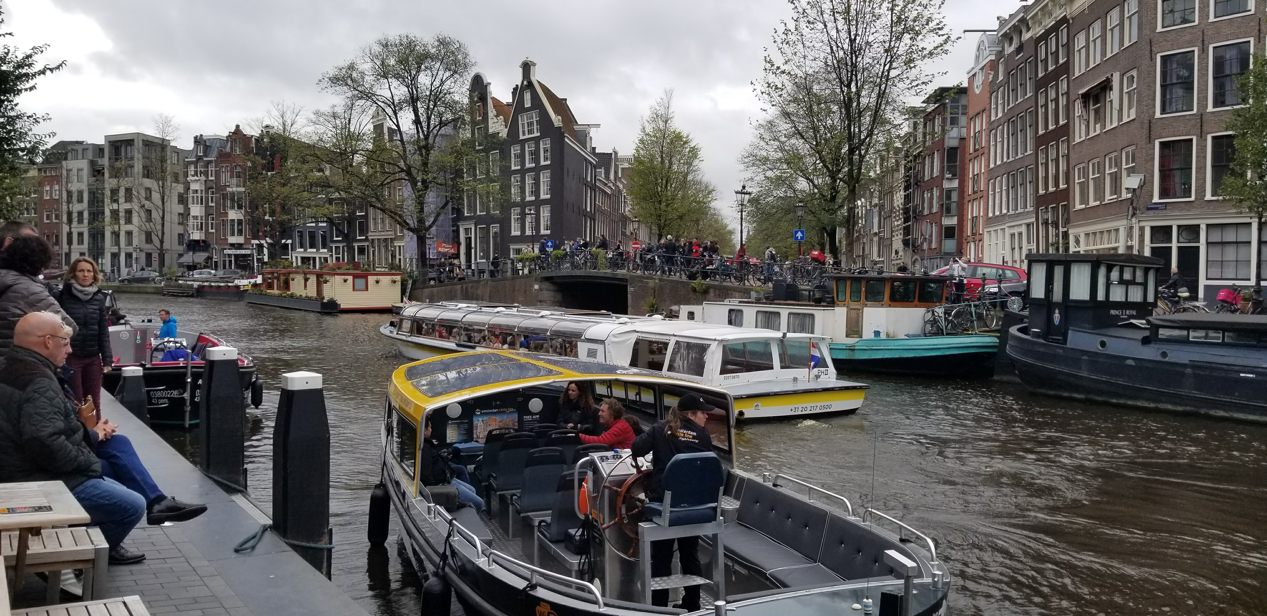 CAPAStudyAbroad_London_Fall2017_From Thaddeus Kaszuba - Amsterdam - People riding about the Canals to roam the city.jpg