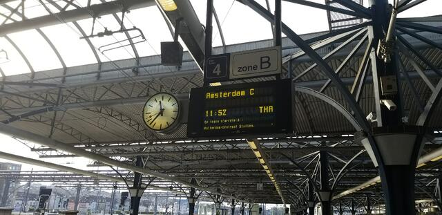 CAPAStudyAbroad_London_Fall2017_From Thaddeus Kaszuba - Train Travel In Europe - Station in Brussels
