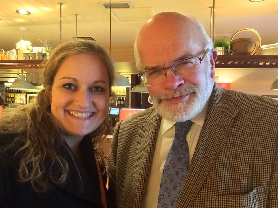 CAPAStudyAbroad_London_Spring2010_Denise_with_Professor_Fosdal_2015