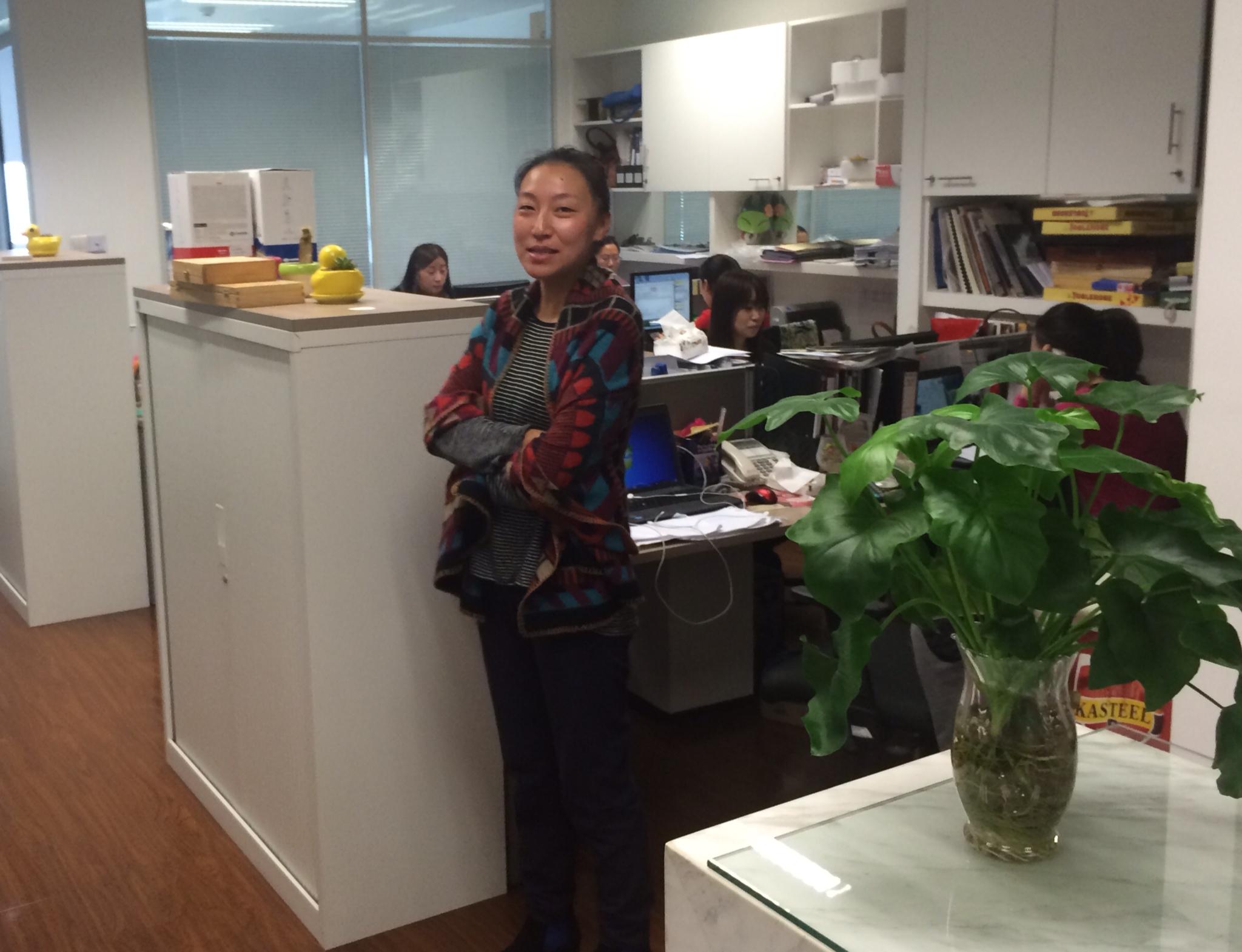 CAPAStudyAbroad_Shanghai_Vandergeeten_-_Interview_with_marketing_director_Jasmine_Zhu