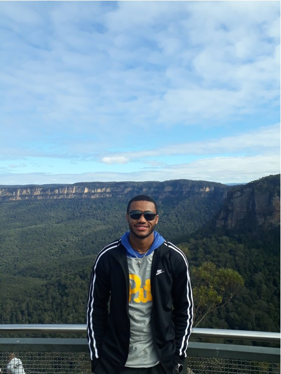 CAPAStudyAbroad_Spring2019_Sydney_George Muirhead_Geroge in the Blue Mountains