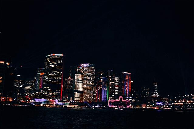 CAPAStudyAbroad_Spring2019_Sydney_George Muirhead_Sydney skyline at night