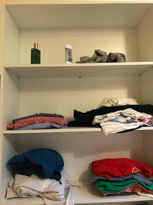 Urbanest shelves and closet