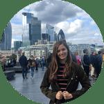 CAPA London Alumn Anna Chichester on Millenium Bridge