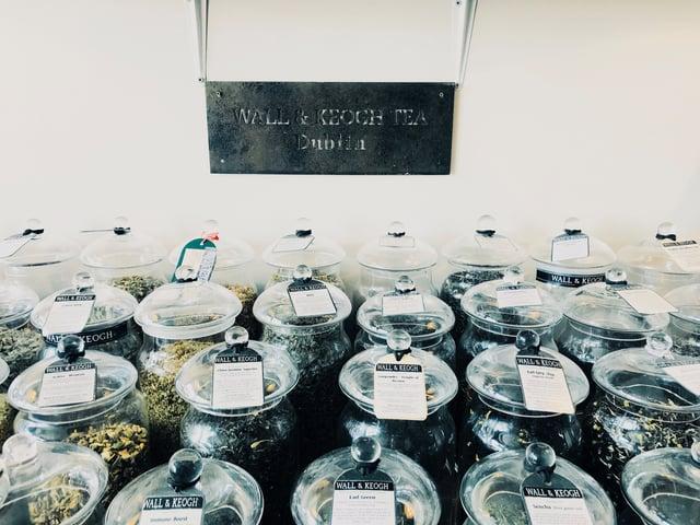 Wall & Keogh Tea Display