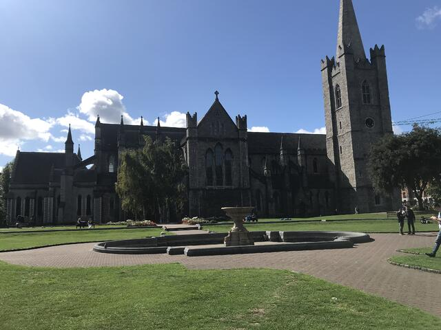 St. Patrick's Park and the Cathedral