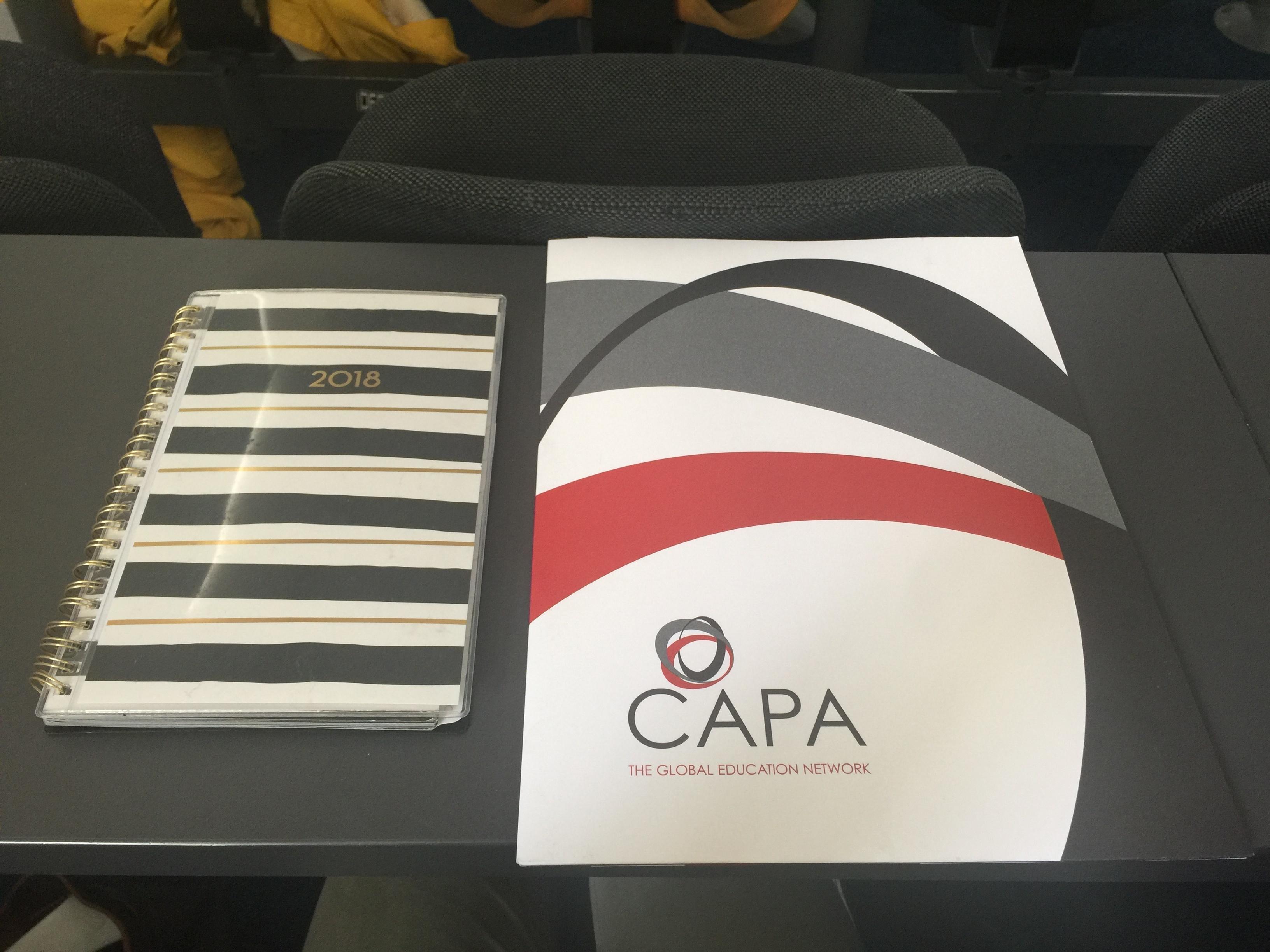 CAPA Dublin Orientation Landing Pack