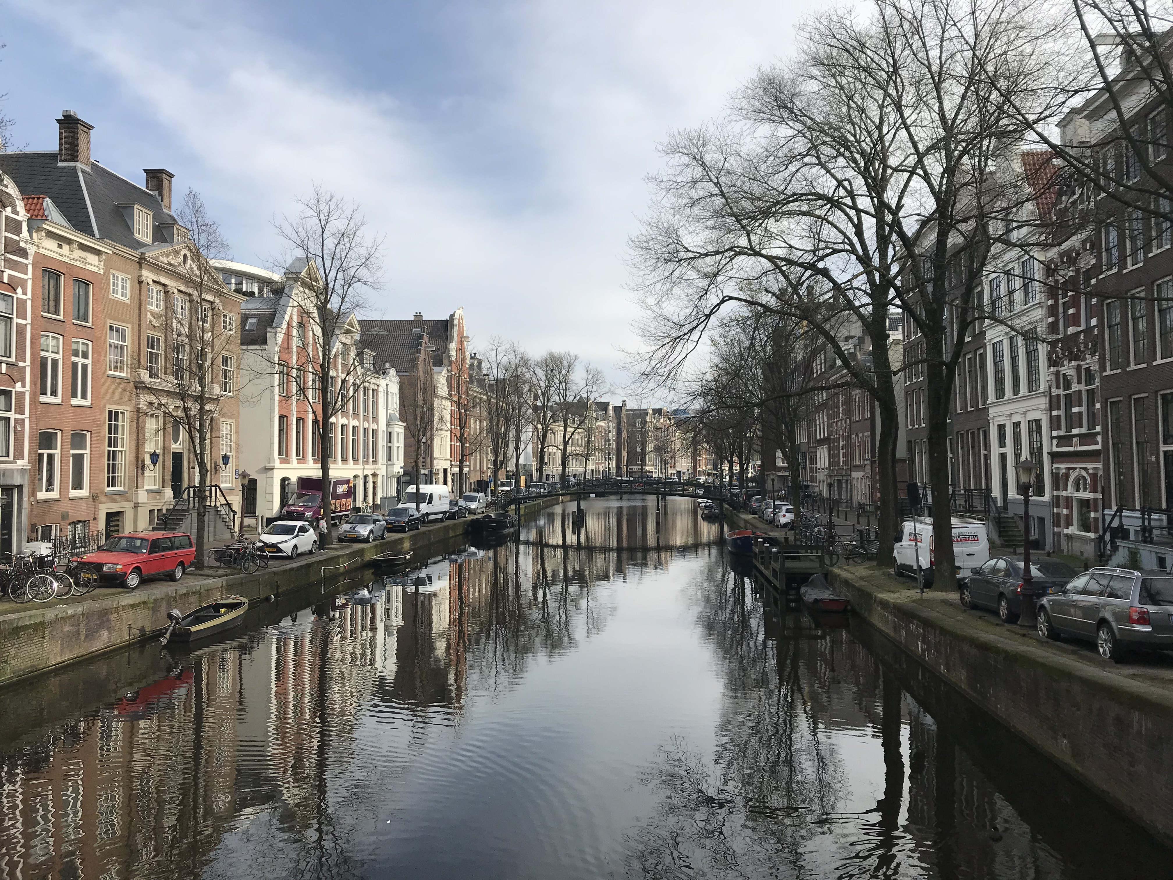 CAPAStudyAbroad_Dublin_Spring2018_From Brandon Mooney - A Canal with Reflection in Amsterdam