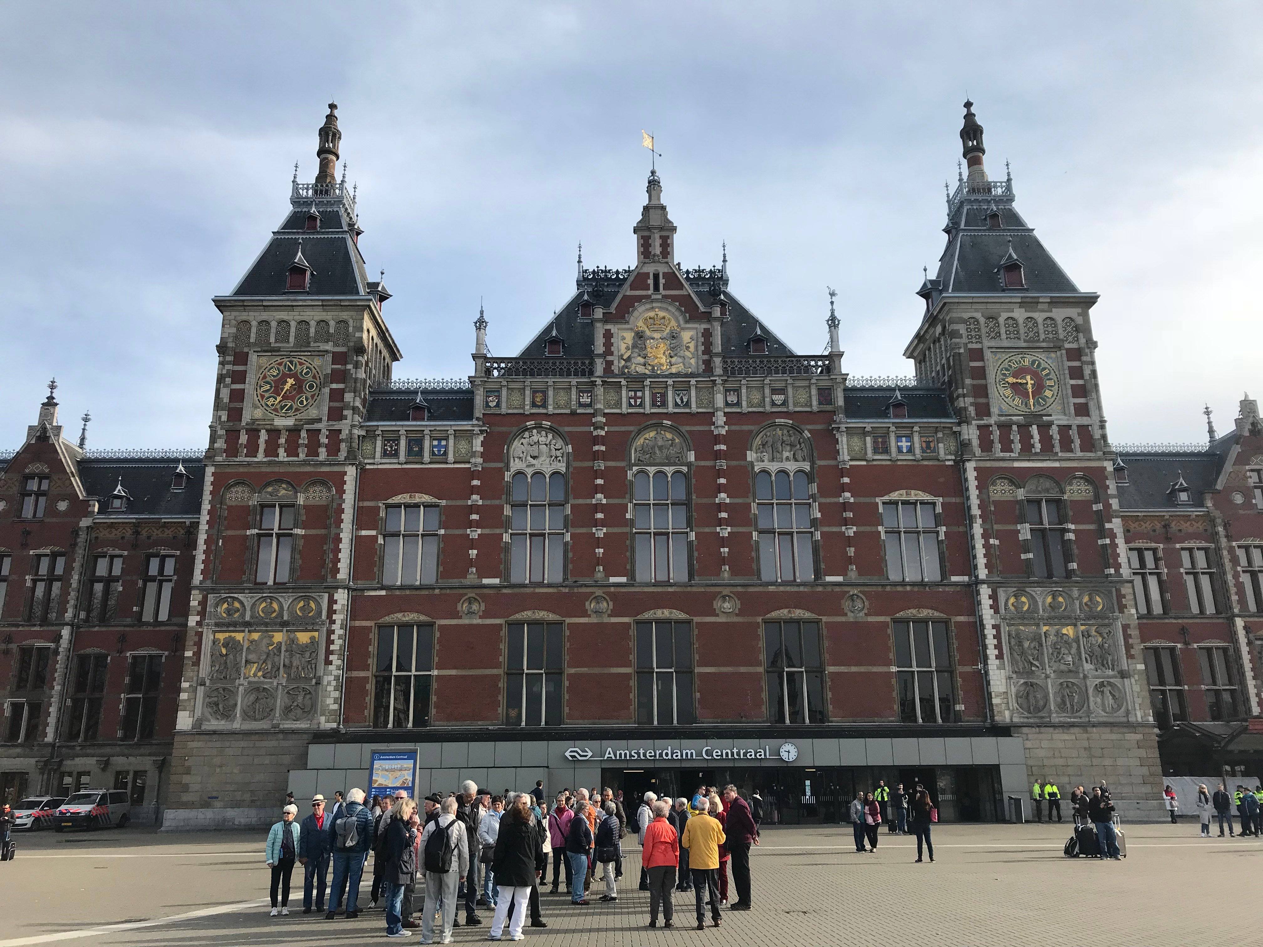 CAPAStudyAbroad_Dublin_Spring2018_From Brandon Mooney - Amsterdam Central Train Station