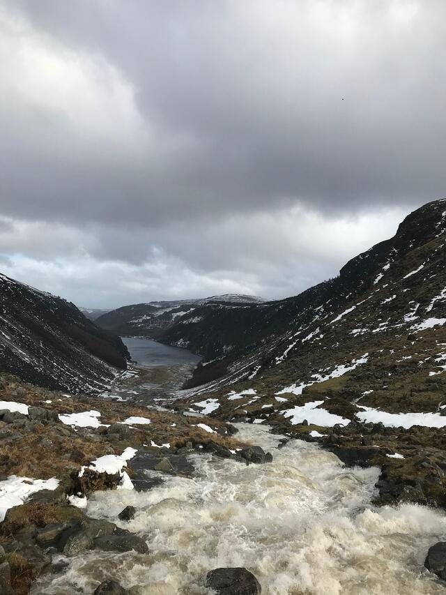 CAPAStudyAbroad_Dublin_Spring2018_From Brandon Mooney - Atop Upper Lake and River Valley in Glendalough.jpeg