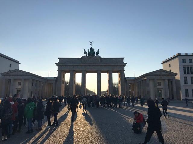 CAPAStudyAbroad_Dublin_Spring2018_From Brandon Mooney - Brandenburg Gate in Berlin
