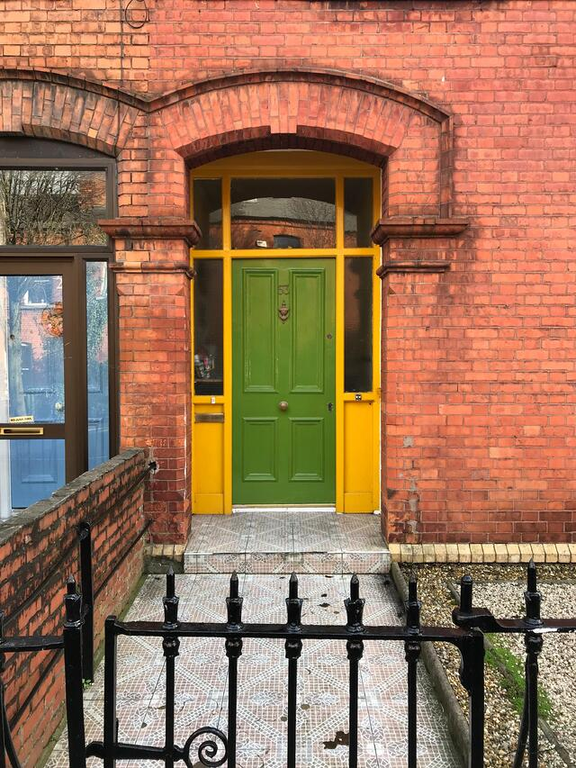 CAPAStudyAbroad_Dublin_Spring2018_From Brandon Mooney - Bright Door along South Circular Road.jpeg