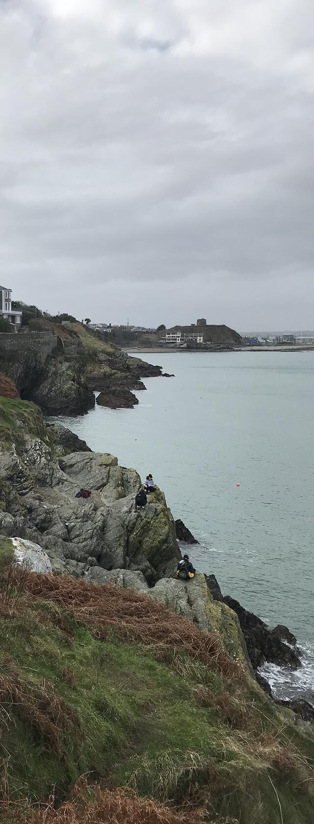 CAPAStudyAbroad_Dublin_Spring2018_From Brandon Mooney - Cliff Walk in Bray