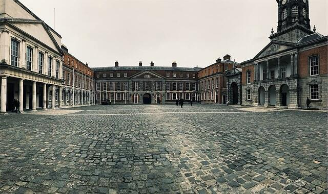 CAPAStudyAbroad_Dublin_Spring2018_From Brandon Mooney - Dublin Castle