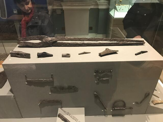 CAPAStudyAbroad_Dublin_Spring2018_From Brandon Mooney - Exhibit in the National Archaeology Museum
