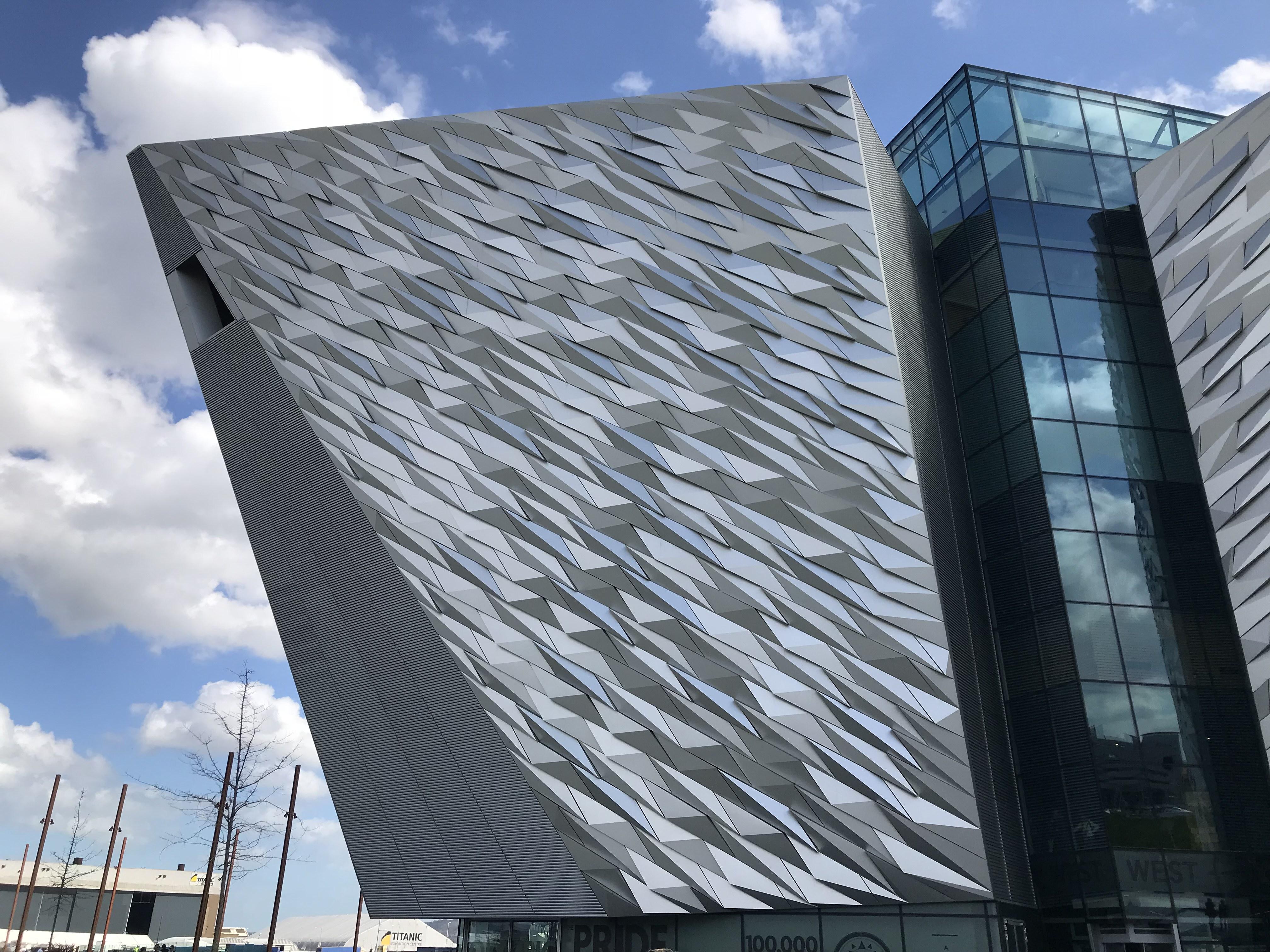 CAPAStudyAbroad_Dublin_Spring2018_From Brandon Mooney - Exterior of the Titanic Museum
