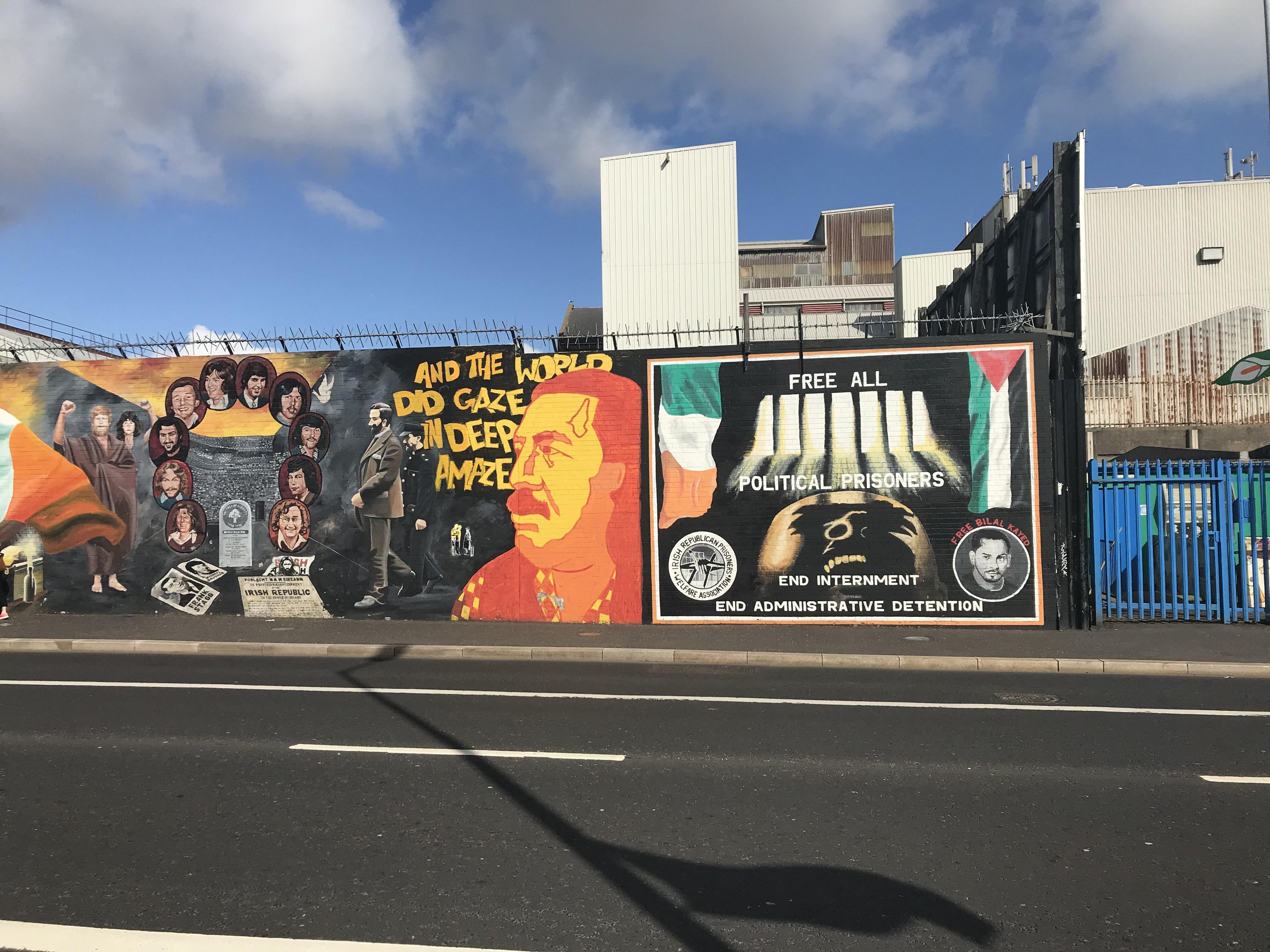 CAPAStudyAbroad_Dublin_Spring2018_From Brandon Mooney - Graffiti of a Wall Outside Catholic Neighborhood