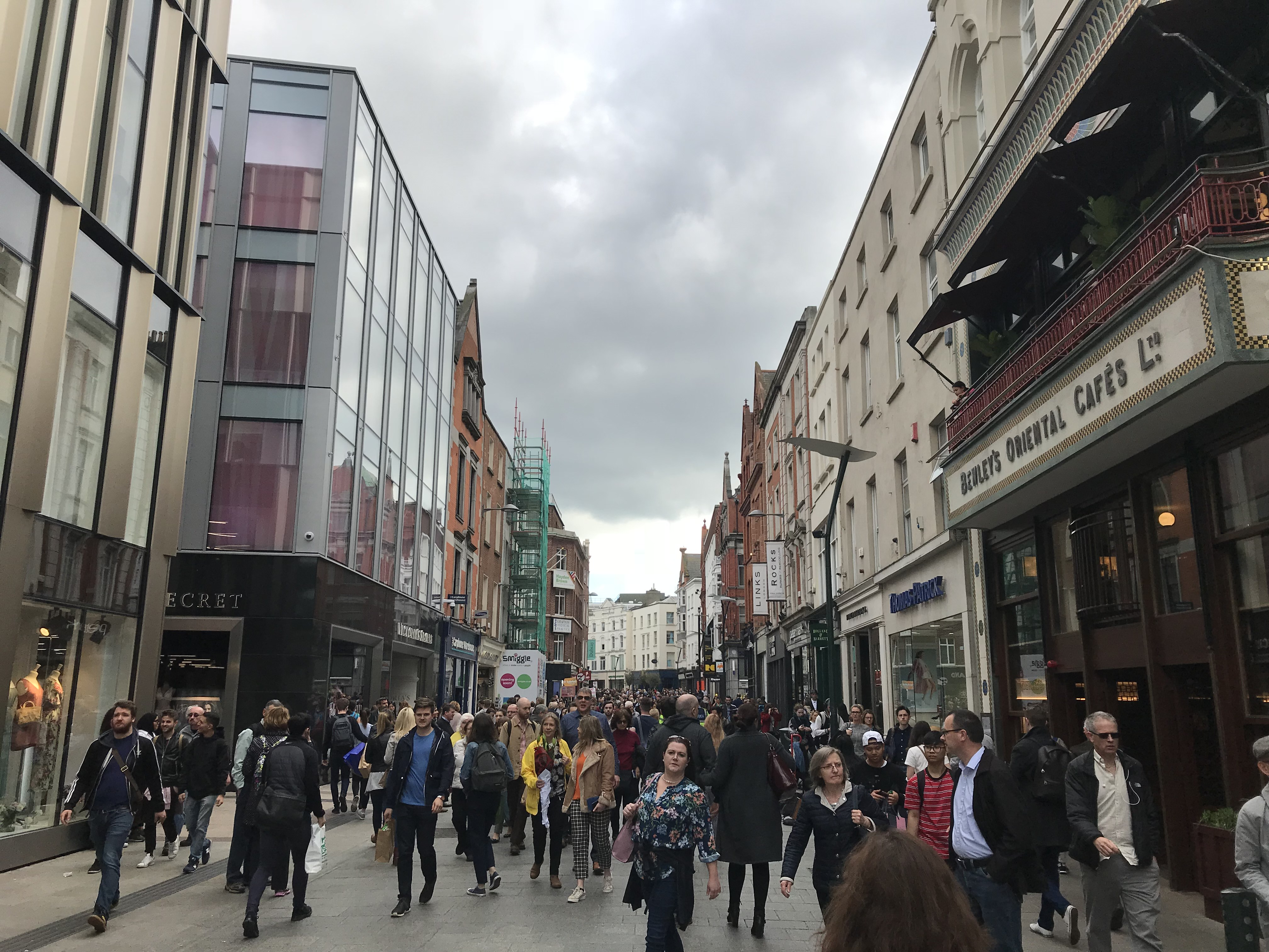 CAPAStudyAbroad_Dublin_Spring2018_From Brandon Mooney - Grafton Street