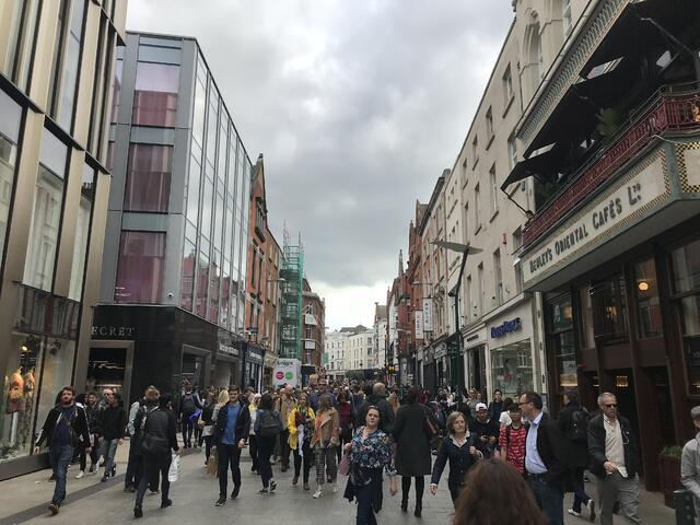 CAPAStudyAbroad_Dublin_Spring2018_From Brandon Mooney - Grafton Street