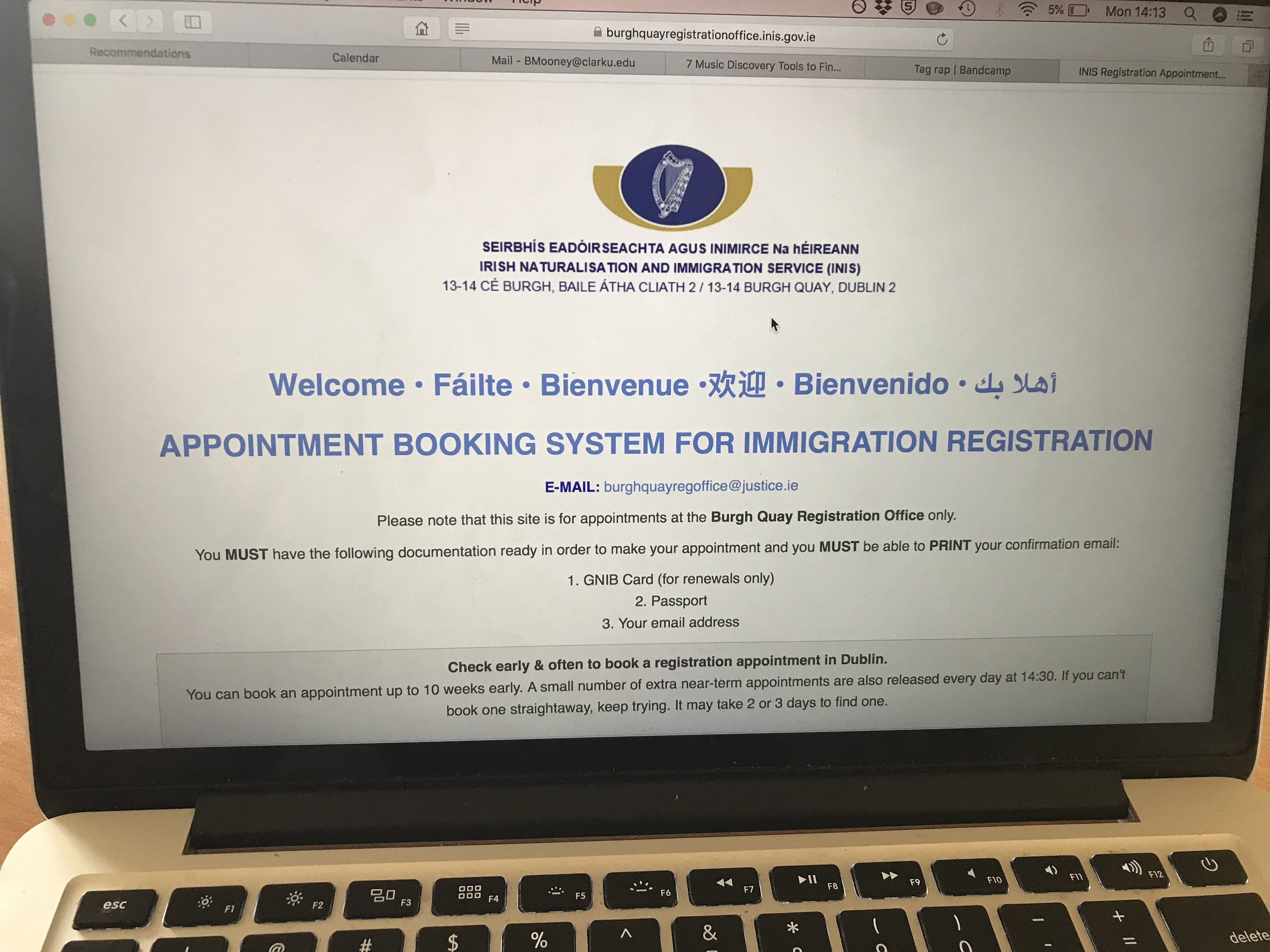 CAPAStudyAbroad_Dublin_Spring2018_From Brandon Mooney - INIS Website