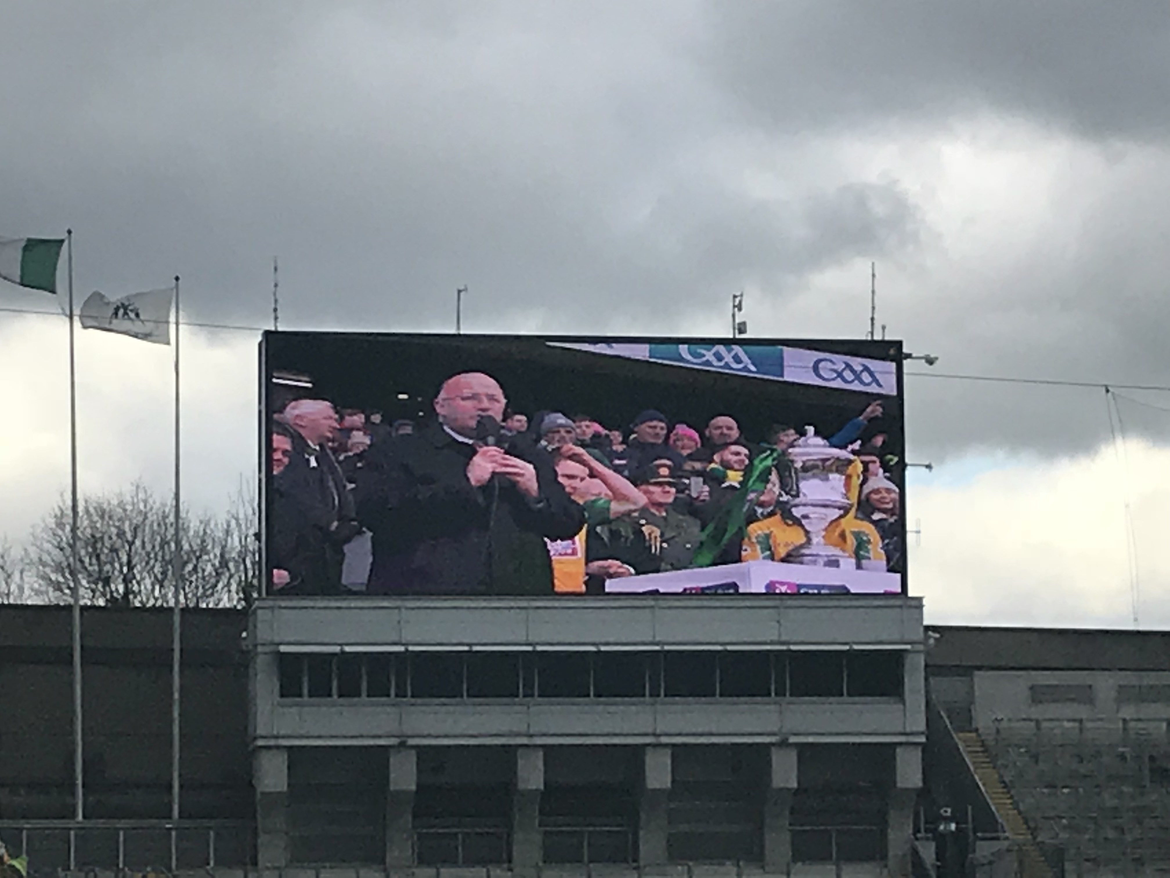 CAPAStudyAbroad_Dublin_Spring2018_From Brandon Mooney - Irish President Michael D Higgins Speaking at Croke Park.jpeg
