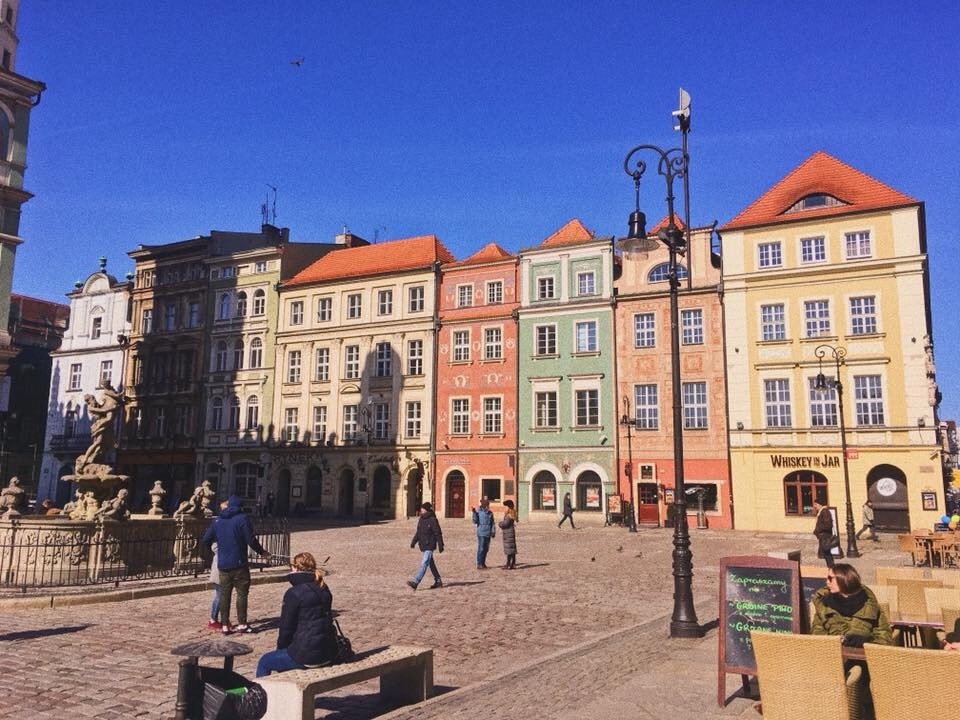 CAPAStudyAbroad_Dublin_Spring2018_From Brandon Mooney - Merchant's Houses in Poznan, Poland