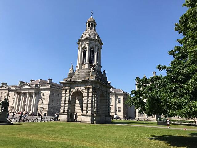 CAPAStudyAbroad_Dublin_Spring2018_From Brandon Mooney - On Trinity College Grounds