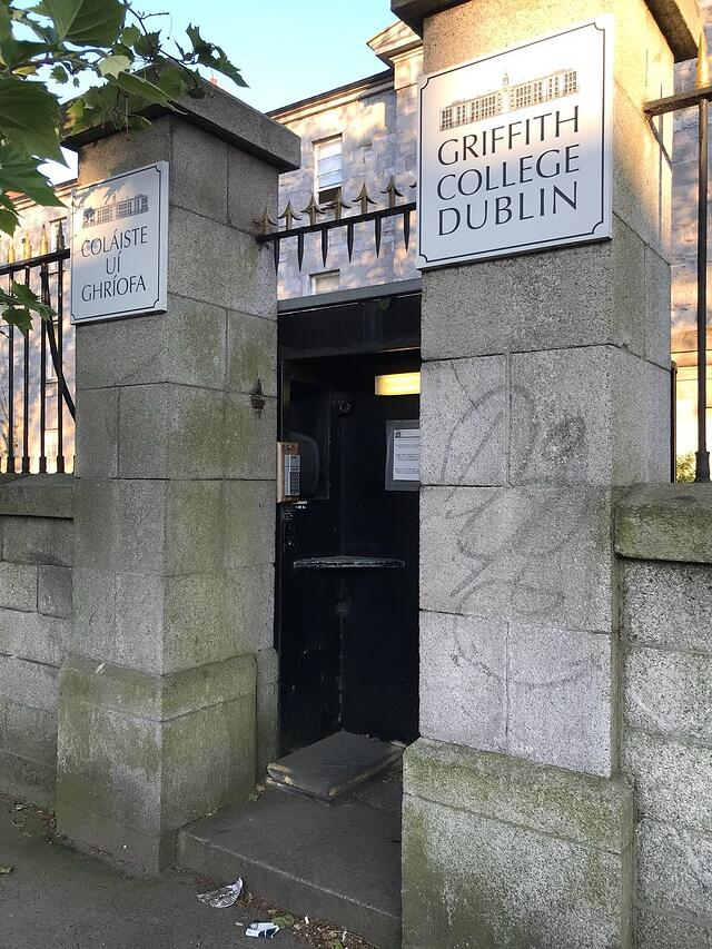 CAPAStudyAbroad_Dublin_Spring2018_From Brandon Mooney - Outside Griffith College