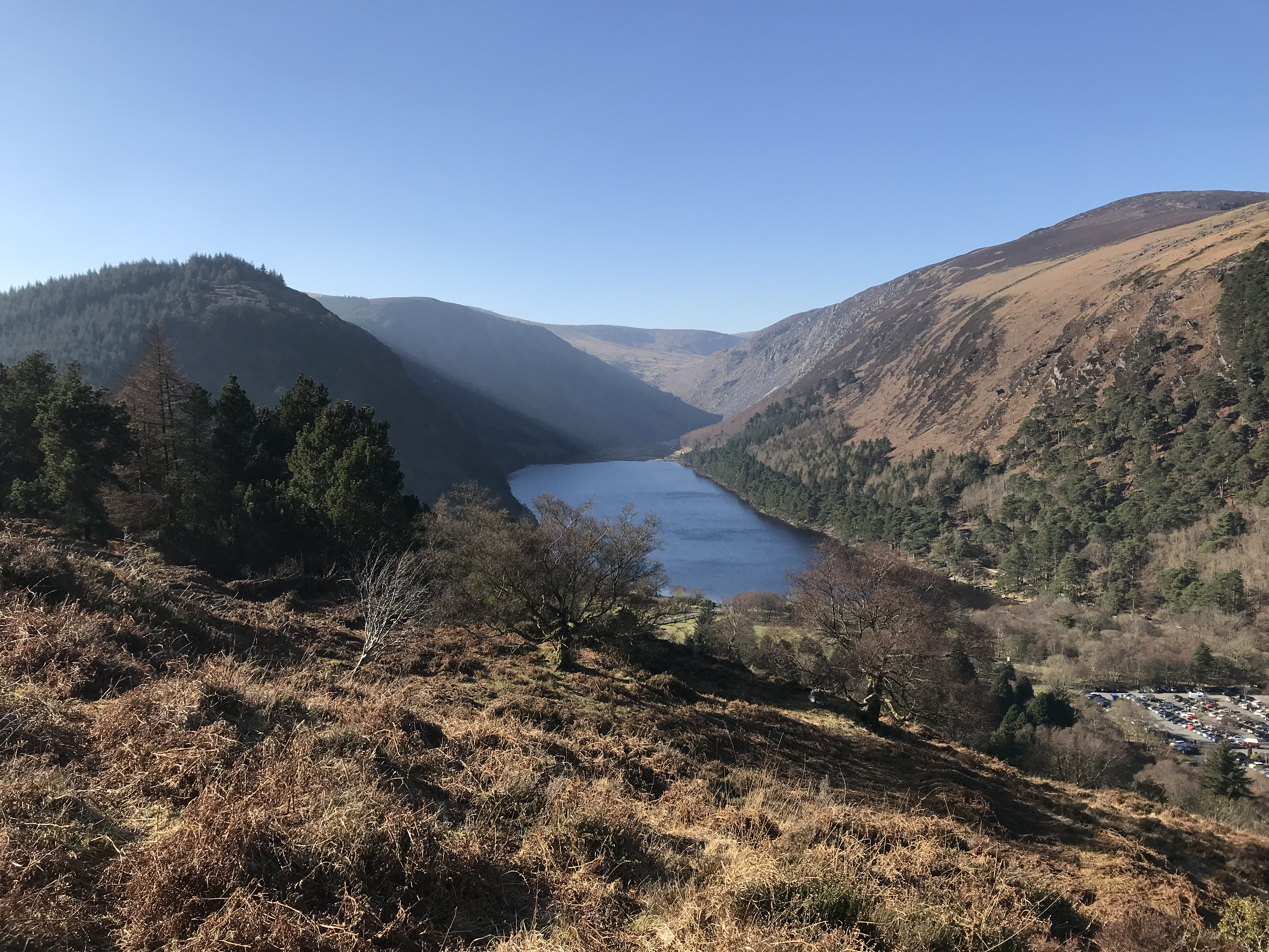 CAPAStudyAbroad_Dublin_Spring2018_From Brandon Mooney - Overlooking the Upper Lake in Glendalough.jpeg