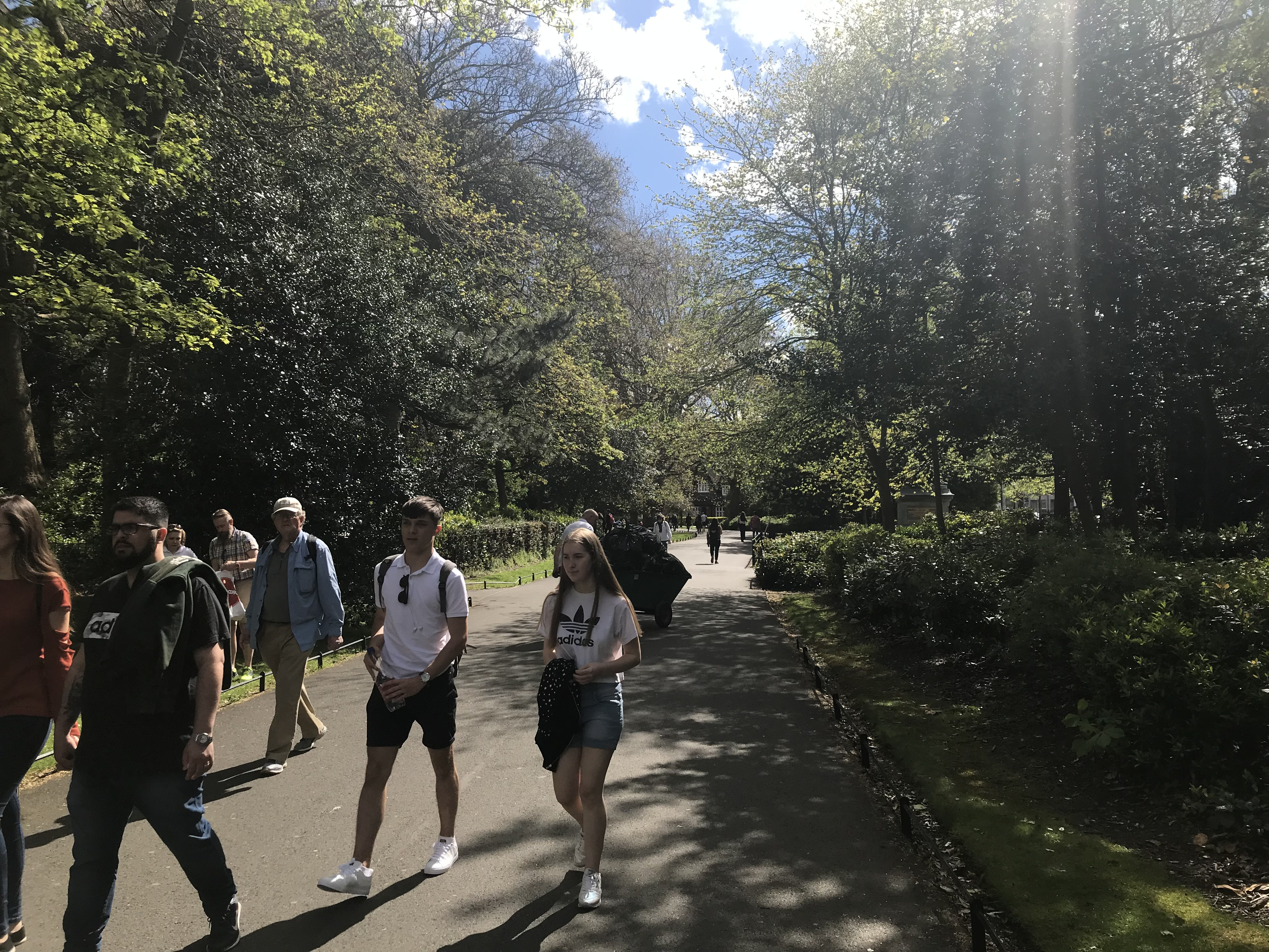 CAPAStudyAbroad_Dublin_Spring2018_From Brandon Mooney - St. Stephen's Green on a Sunny Day