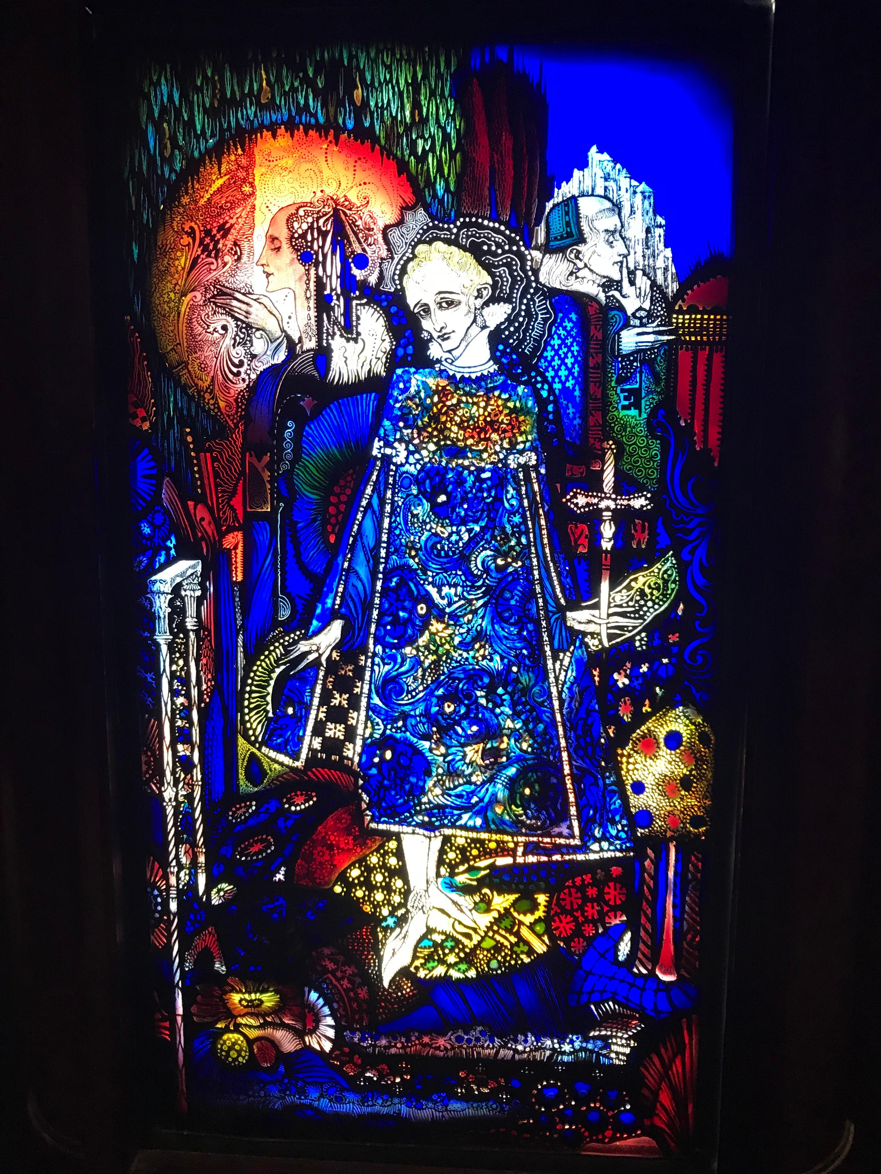 CAPAStudyAbroad_Dublin_Spring2018_From Brandon Mooney - Stained Glass Window in the National Gallery of Ireland.jpeg