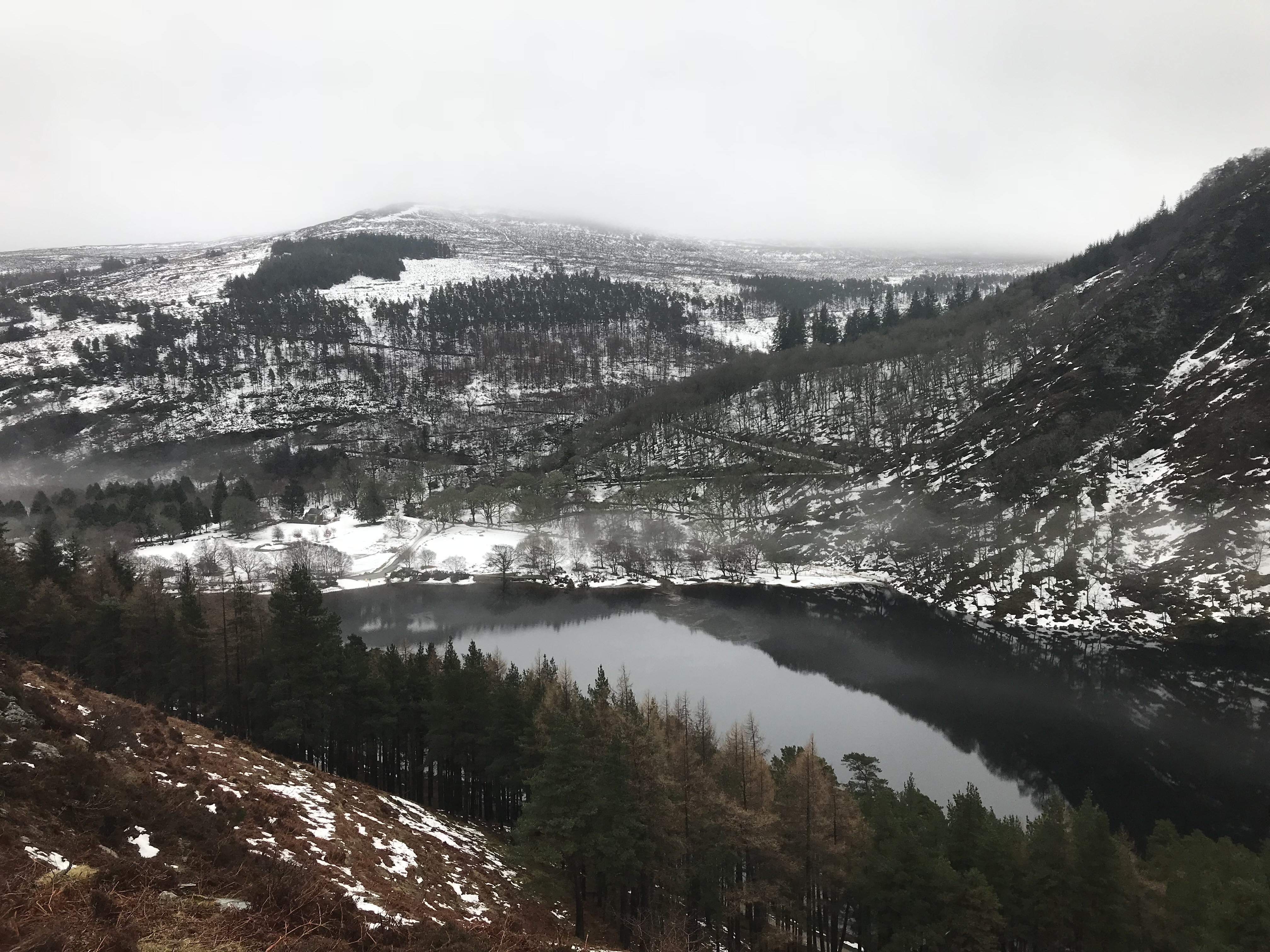 CAPAStudyAbroad_Dublin_Spring2018_From Brandon Mooney - Upper Lake from One of the Valley Walls in Glendalough.jpeg
