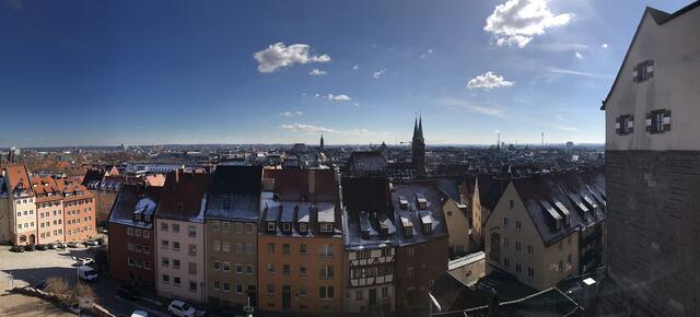 CAPAStudyAbroad_Dublin_Spring2018_From Brandon Mooney - View from Nuremberg Castle