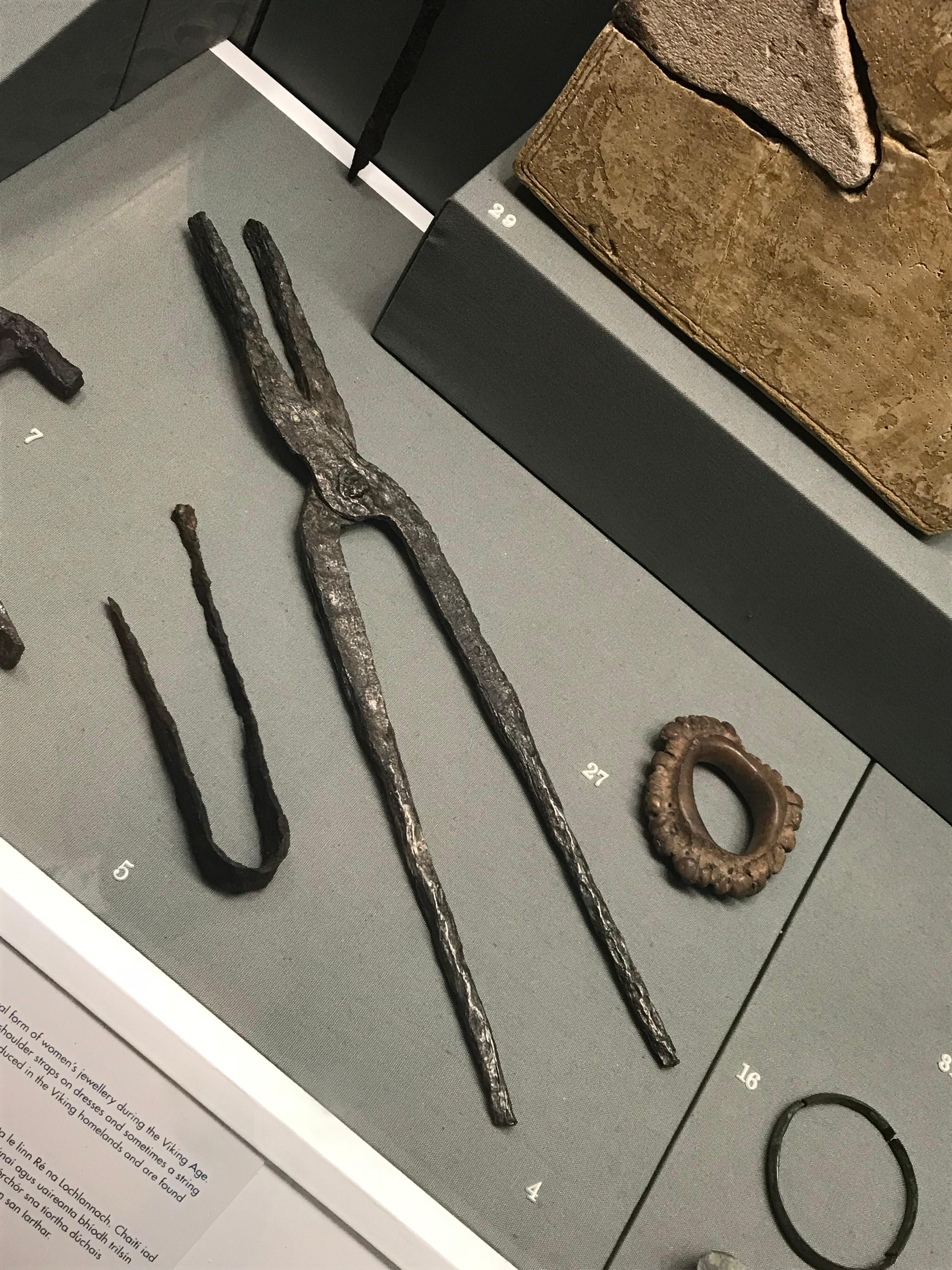 CAPAStudyAbroad_Dublin_Spring2018_From Brandon Mooney - Viking artifacts in the National Archeology Museum.jpeg