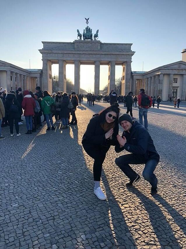 CAPAStudyAbroad_Dublin_Spring2018_From Brandon Mooney - With Rachel in Berlin