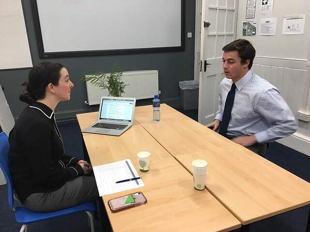 GIC students have always participated in a professional Mock interview at the end of their course. Through our remote course, students will complete a video mock-interview through Zoom.