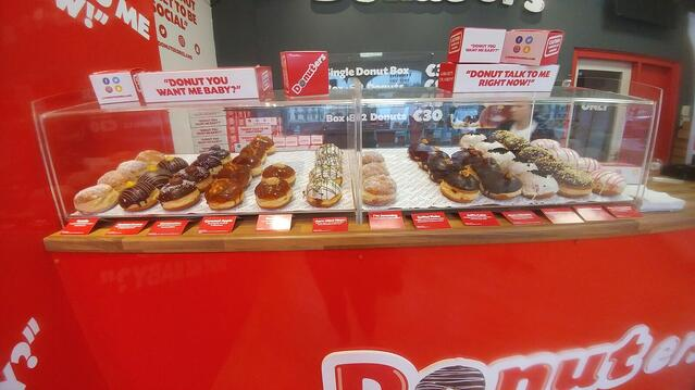 CAPAStudyAbroad_Fall2017_Dublin_From Elizabeth Leahy - Donuters- Donut selection.jpg