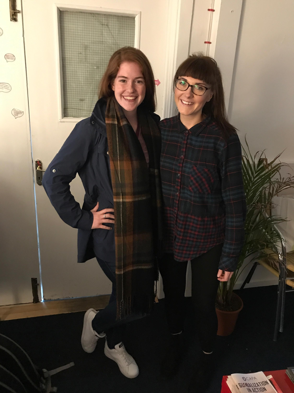 CAPAStudyAbroad_Fall2017_Dublin_From Elizabeth Leahy - With CAPA Dublin's Hayley Ni Bhriain.jpeg
