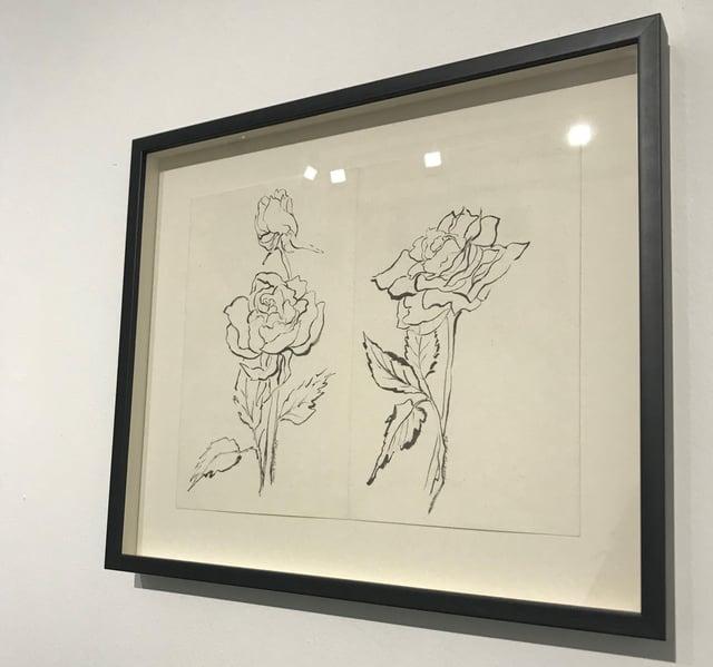 Monir Farmanfarmaian's Flower's Nightingales and Heartache