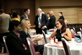 Attendees of the Griffith College Alumni Breakfast
