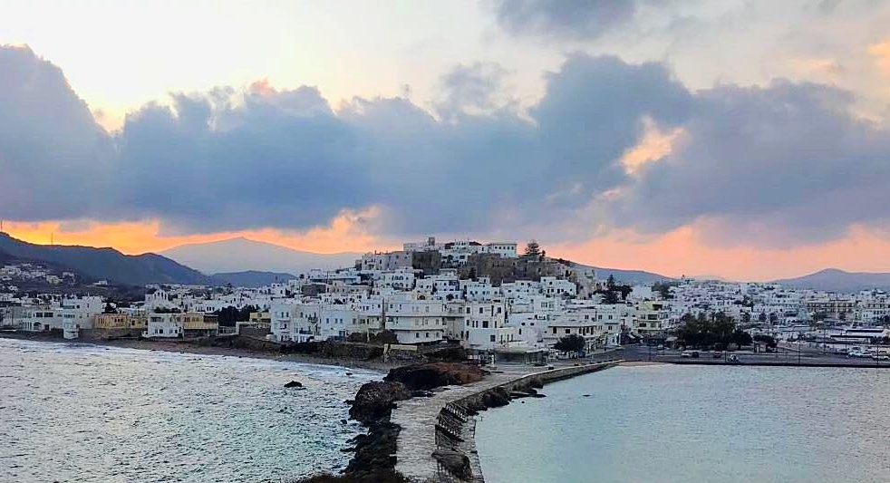 Houses in Naxos, Greece