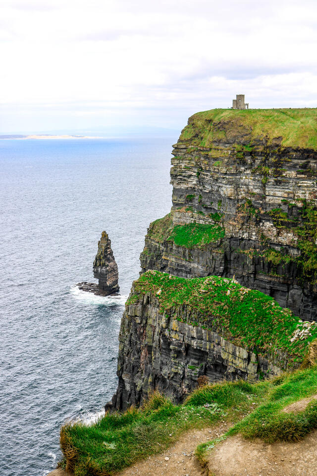 Some of my own photography from the Cliffs of Moher.