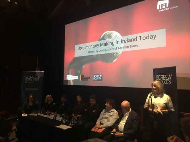 Panel on Irish Documentaries at the Irish Film Festival